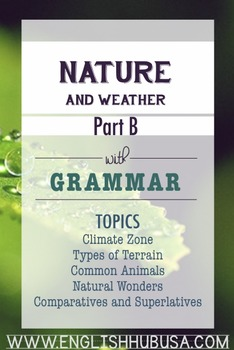 Nature & Weather (Unit B Packet): Winter Weather and Prepa