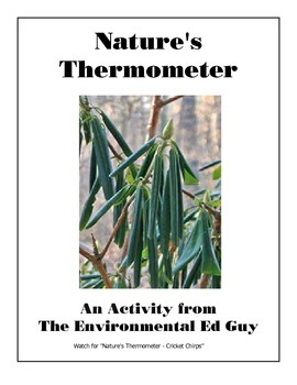 Nature's Thermometer - Rhododendron