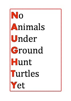 Naughty Spelling