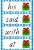 Naughty or Nice? A high frequency word game in Queensland font!