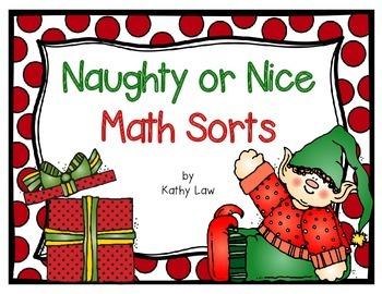 Naughty or Nice - Math Sorts