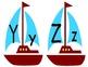 Nautical ABC posters