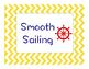 Nautical Behavior Management Chart