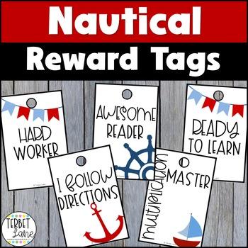 Nautical Brag Tags