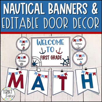 Nautical Bulletin Board Cutouts
