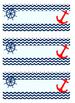 Nautical Chevron Teacher's Binder and Resource Printables