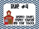 Nautical Chevron Classroom Rules (Whole Brain Teaching Inspired)