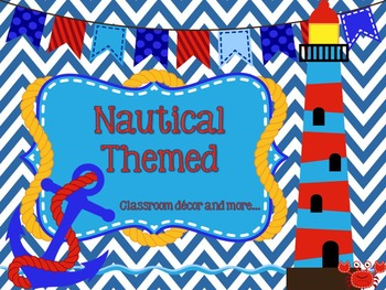 Nautical Classroom Set