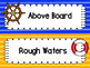 Nautical Colored Behavior Clip Chart