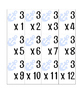 Nautical Multiplication Flash Cards