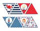 Nautical (Ocean) themed bulletin board pendant banner