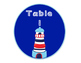 Nautical Table Signs (Bilingual)