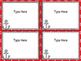 Nautical Theme Editable Task Cards
