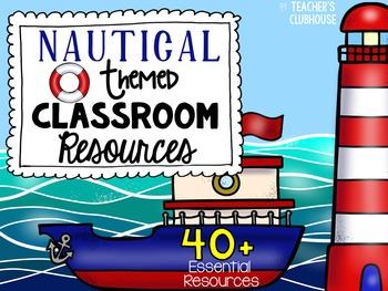 Nautical Theme Decor Pack