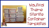 Nautical Theme Sterlite Container Templates