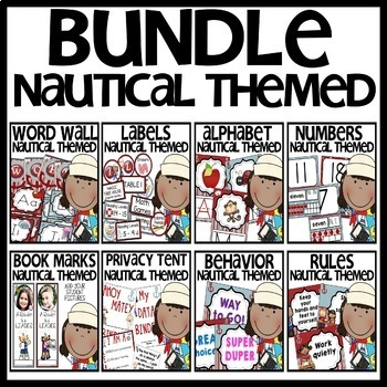 Nautical Themed BUNDLE
