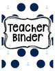 Nautical-Themed Binder Covers