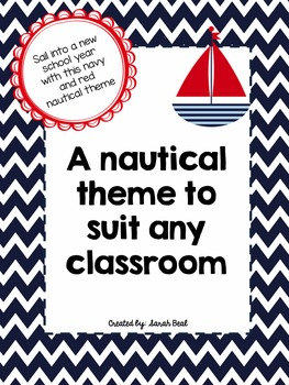 Nautical Themed Classroom (organization and decor)