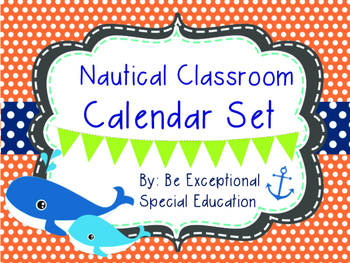 Nautical Themed Complete Calendar Set