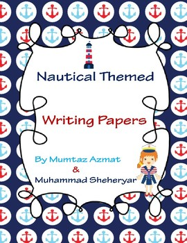 Nautical Themed Writing Papers