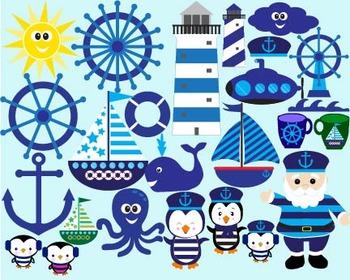Nautical sailing boat ocean anchor hat sailor bunting birt
