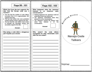 Navajo Code Talkers - 4th Grade Reading Street