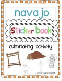 Navajo Sticker Book Bonus Reading to Learn Booklet