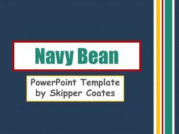 Navy Bean--PowerPoint Template