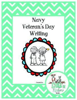 Navy Veteran's Day Writing - English and Spanish