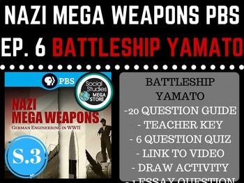Nazi Mega Weapons PBS Battleship Yamato Season 3 Ep. 6 Wor