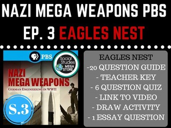 Nazi Mega Weapons PBS Eagles Nest Season 3 Ep. 2 World War II