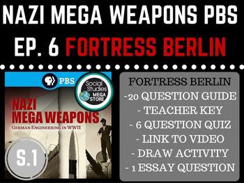 Nazi Mega Weapons PBS Fortress Berlin Season 1 Ep. 6