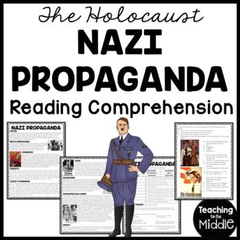 Nazi Propaganda Reading Comprehension Worksheet, World War