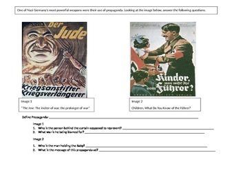 Nazi Propaganda Worksheet