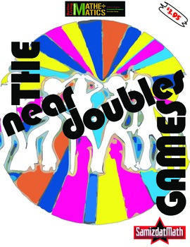 Near Doubles (Doubles Plus One) Games: Full Color and B&W,