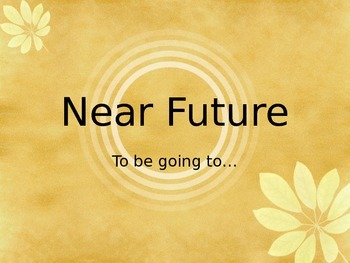 Near Future in Spanish. IR + A + INFINITIVE. FUTURO CERCAN
