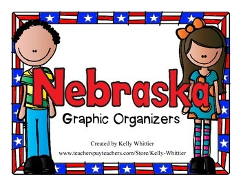 Nebraska Graphic Organizers (Perfect for KWL charts and ge
