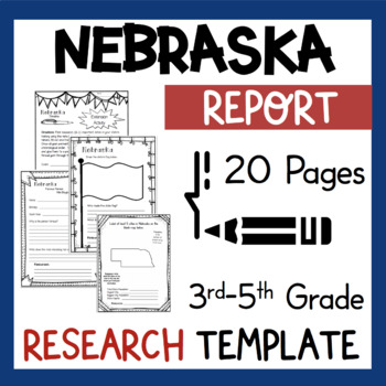 Nebraska State Research Report Project Template Bonus Time