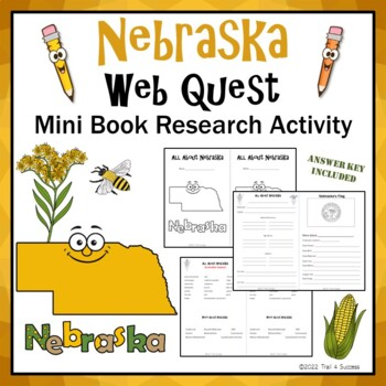 Nebraska Webquest Research Mini-Book Activity