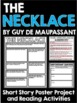 The Necklace by Guy De Maupassant Short Story Unit with Qu