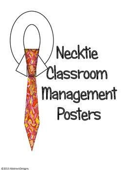 Necktie Classroom Management Posters