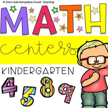 Need to work on...Kindergarten Math Work Station
