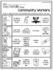 Needs and Wants, Goods and Services, Community Workers Fol