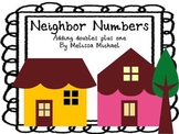 Math Addition Center ~Neighbor Numbers ~ Activities for ad