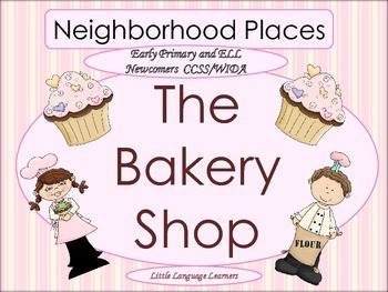 ESL Activity: Vocabulary and Concepts-Neighborhood Places