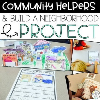 Neighborhoods and Community Helpers Interactive Mini-Unit