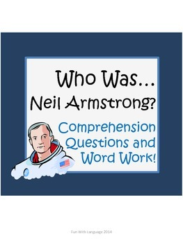 """Neil Armstrong Biography by Edwards """"Who Was..."""" Comprehen"""