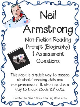 Neil Armstrong ~ Non-Fiction (Biography) Reading Assessmen