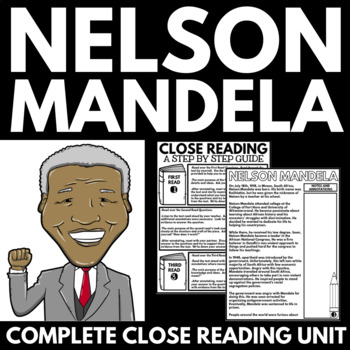 Nelson Mandela - Black History Month Unit Information and