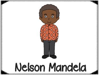 Nelson Mandela Graphic Organizers